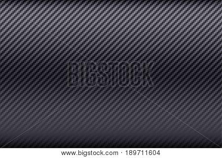 Bright Carbon fiber composite texture. Wide format. Technology background. Vector illustration.