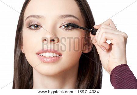 Young Makeup Beauty.