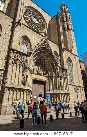 Basílica De Santa Maria Del Mar