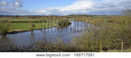 River Severn at Wainlode between Gloucester & tewkesbury