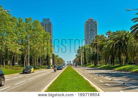 Carrer De La Marina Street