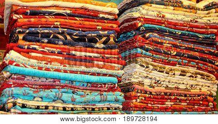 FETHIYE, TURKEY, 31ST MAY 2017:A traditional Turkish carpet shop in fethiye, turkey, 31st may 2017