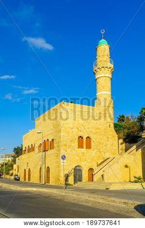 Al-bahr (the Sea) Mosque In Jaffa, Now Part Of Tel-aviv-yafo