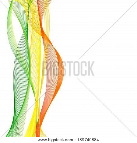 Vector template linear background with flag to celebrate September 22 - Mali Independence Day