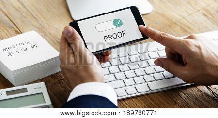 Proof Confirmation Information Valid True