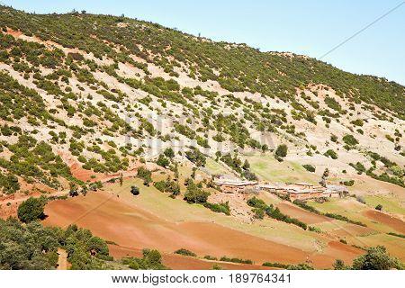 Dades Valley  Atlas Morocco Africa