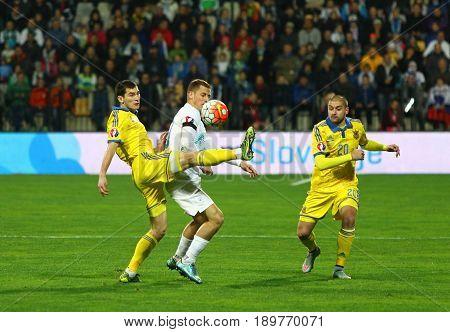 Uefa Euro 2016 Play-off For Final: Slovenia V Ukraine