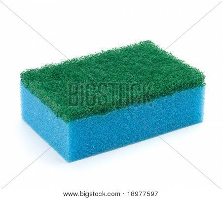 sponge group isolated on the white background