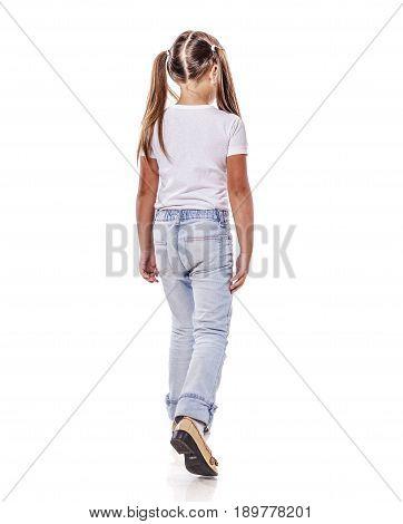 Girl Walk Away