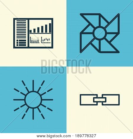 Learning Icons Set. Collection Of Controlling Board, Laptop Ventilator, Related Information And Other Elements. Also Includes Symbols Such As Computer, Related, Panel.
