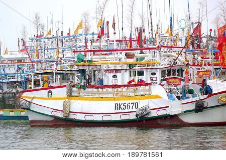 A Sea Of Fishing Boats
