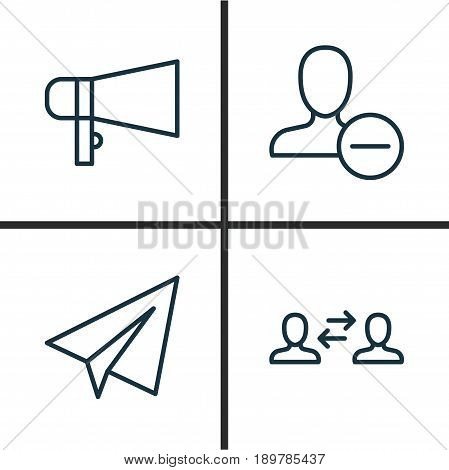 Communication Icons Vector Photo Free Trial Bigstock