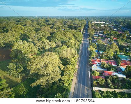 Road In Latin America