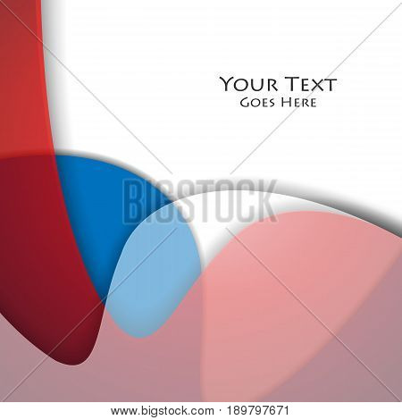 vector wavy design elements with copy space. Colorful illustration for you work. Eps10
