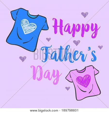 Collection stock father day celebration vector art