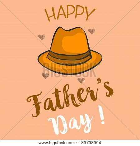 Happy father day collection stock vector illustration