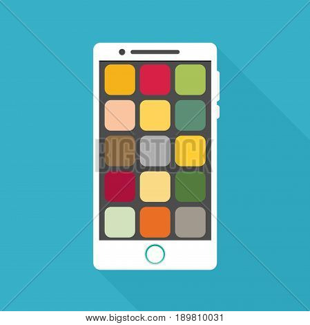 Smartphone icon in iphone style. Smartphone Icon Vector. Smartphone Icon Picture.