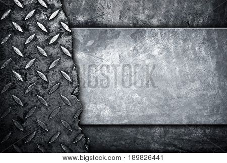 cracked diamond plate background