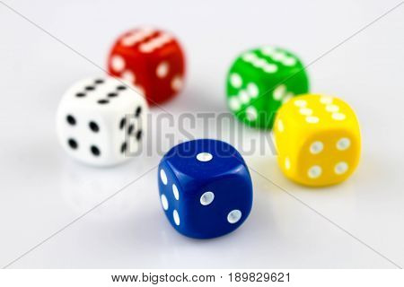 An image of a cube - bet, Casino, chance