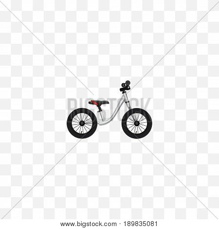 Realistic Balance Element. Vector Illustration Of Realistic Equilibrium Isolated On Clean Background. Can Be Used As Equilibrium, Balance And Bike Symbols.