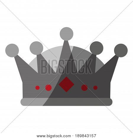 royalty crown  icon image vector illustration design