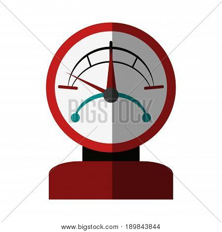 pressure gauge  icon image vector illustration design
