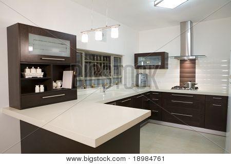 dinner room modern design / luxury kitchen