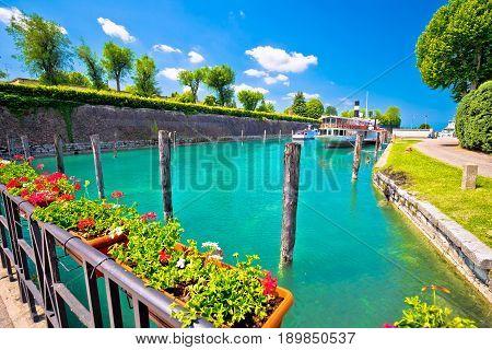 Peschiera Del Garda Turquoise Waterfront View