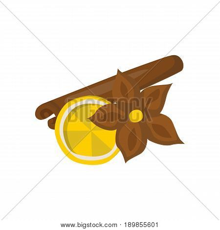 Vector Cartoon Spices For Wine Beverage