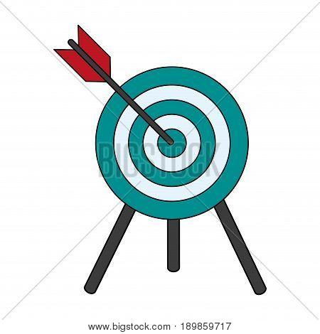 target shooting illustration icon vector design graphics