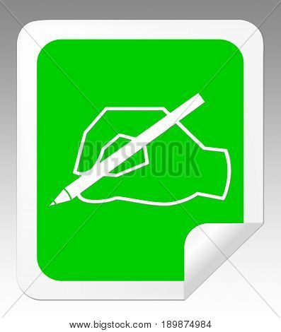 Writing Message Means Communication Note 3D Illustration