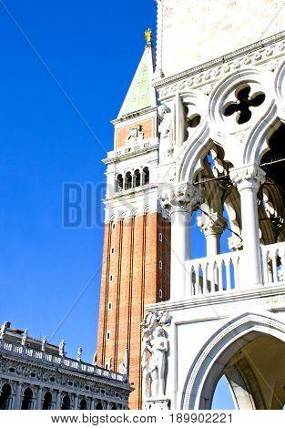 Panorama della città di Venezia - Italia