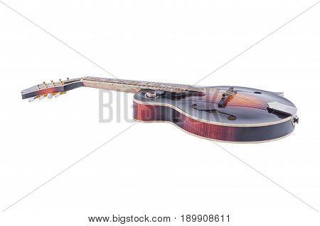 Nice mandolin isolated on a white background