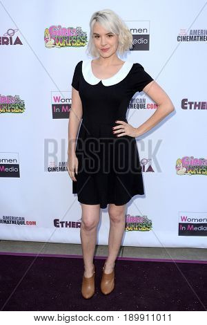 LOS ANGELES - JUN 3:  Brea Grant at the Etheria Film Night 2017 at the Egyptian Theater on June 3, 2017 in Los Angeles, CA