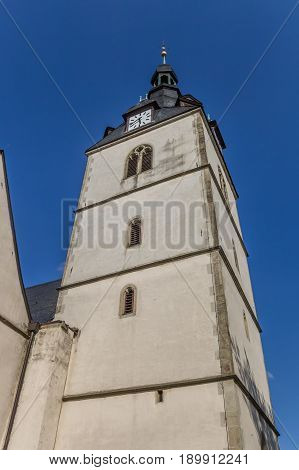 Church At The Central Market Square Of Detmold
