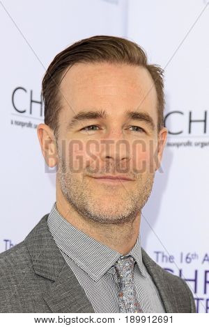 LOS ANGELES - JUN 3:  James Van Der Beek at the 16th Annual Chrysalis Butterfly Ball at the Private Estate on June 3, 2017 in Los Angeles, CA