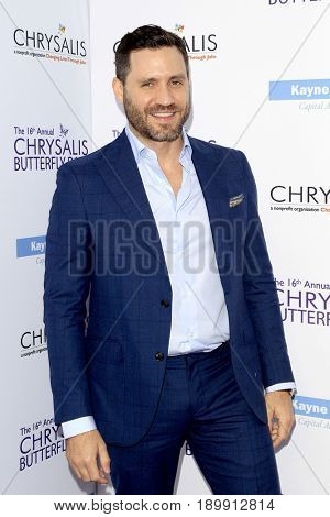 LOS ANGELES - JUN 3:  Edgar Ramirez at the 16th Annual Chrysalis Butterfly Ball at the Private Estate on June 3, 2017 in Los Angeles, CA