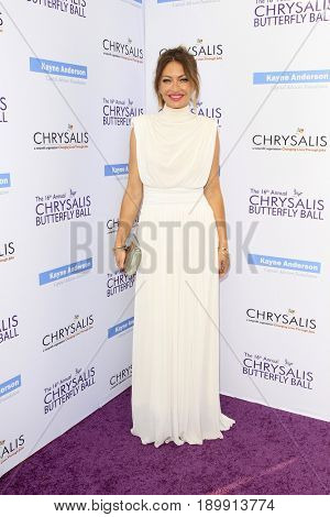 LOS ANGELES - JUN 3:  Rebecca Gayheart at the 16th Annual Chrysalis Butterfly Ball at the Private Estate on June 3, 2017 in Los Angeles, CA