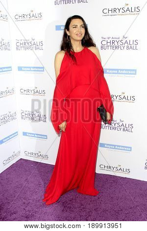 LOS ANGELES - JUN 3:  Shiva Rose at the 16th Annual Chrysalis Butterfly Ball at the Private Estate on June 3, 2017 in Los Angeles, CA