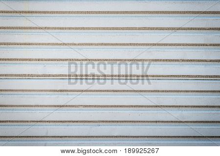 Old Wall Texture Or Old Metal Texture Background. Steel Wall Horizontal With Pattern For Design. Gre