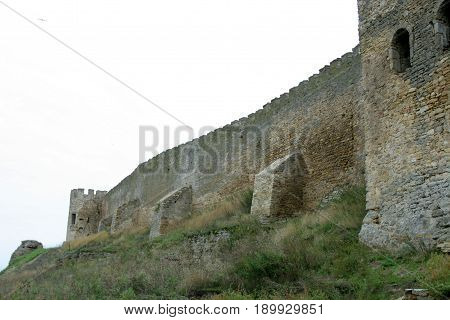 Bilhorod-Dnistrovskyi fortress is a historical and architectural monument of XIV centuries. Country Ukraine