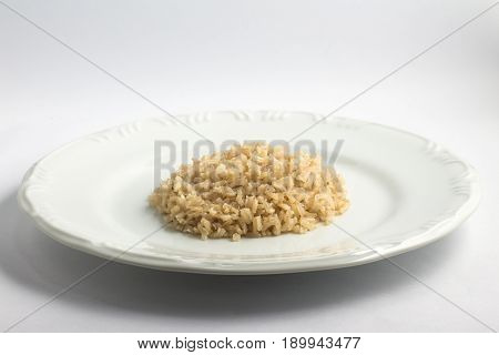 Cooked Wholegrain Rice