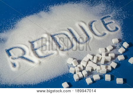 Reduce Written With Sugar