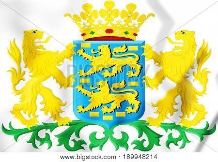 Friesland Coat Of Arms, Netherlands.