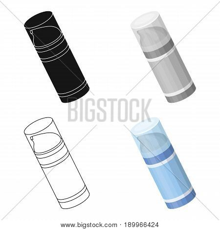 Shaving foam.Barbershop single icon in cartoon style vector symbol stock illustration .