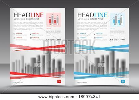 Business brochure flyer template annual report cover design advertisement printing magazine ads corporate layout