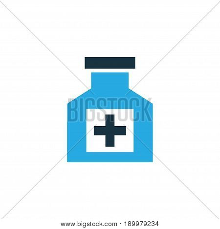 Cure Colorful Icon Symbol. Premium Quality Isolated Remedy Element In Trendy Style.