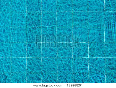 Top view of swimming pool. Ready for backgrounds and other.