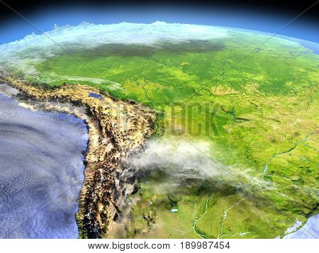 Pampa From Space