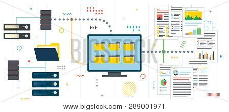 Data Server, Secure Connection And File Transfer. Cloud Storage, Backup And File Sharing. Data Serve